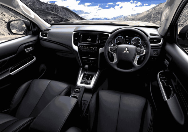 mitsubishi l200 dakar 2020 interior - cars trend today